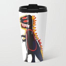 Basquiat Dinosaur Travel Mug