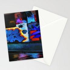 Neon Graffiti Stationery Cards