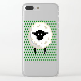 The sheep, it goes Baa! Clear iPhone Case