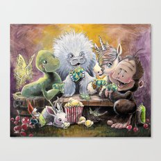 Urban Legends game night Canvas Print