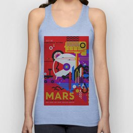 Mars Tour : Galaxy Space Unisex Tank Top