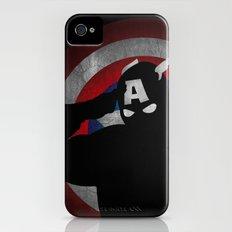 SuperHeroes Shadows : Captain America iPhone (4, 4s) Slim Case