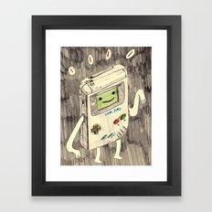 Game BMO Framed Art Print
