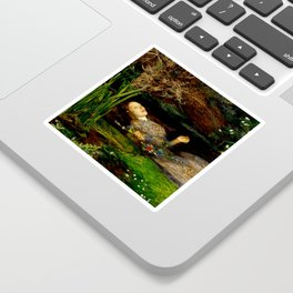 "John Everett Millais ""Ophelia"" Sticker"