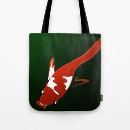 Koi and Green Tote Bag