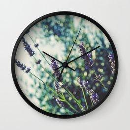 Field of Flowers 10 Wall Clock