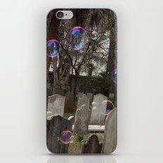 Graveyard Bubbles iPhone & iPod Skin