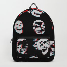 3D Skulls Backpack