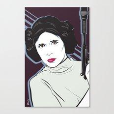 Princess to the Stars Canvas Print