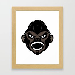 Monkey Framed Art Print