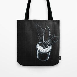 INVERTED CACTUS - monochrome Tote Bag