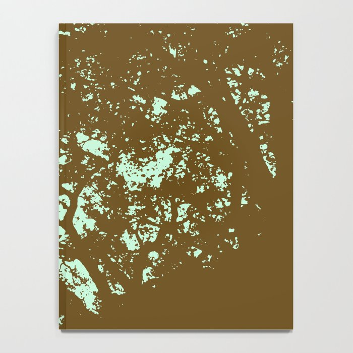 Mint and Brown Forest Notebook
