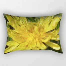 Dandelion Macro Rectangular Pillow