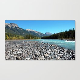 Glacier River Canvas Print
