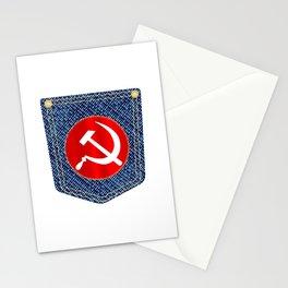 Russian Denim Pocket Stationery Cards