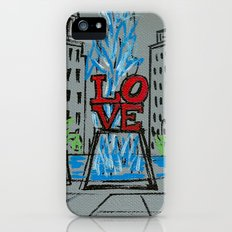 Little Love Park Sketch Slim Case iPhone (5, 5s)