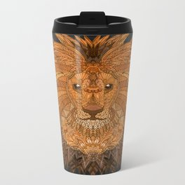 King Lion Metal Travel Mug