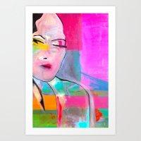 spain Art Prints featuring Spain  by Cielo Blu