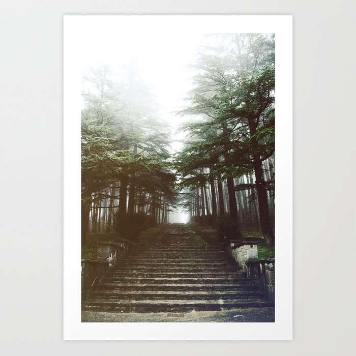 I will follow you into the dark. Art Print