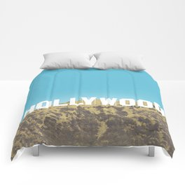Hollywood Gold Rush Comforters
