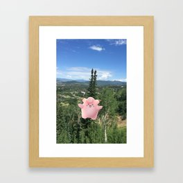 Clefairy Framed Art Print