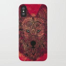 The Chosen Lone Henna Wolf iPhone Case