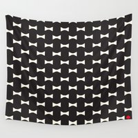 bows Wall Tapestries featuring Kate Spade - Bows by Katieb1013