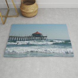 Huntington Beach Life Rug