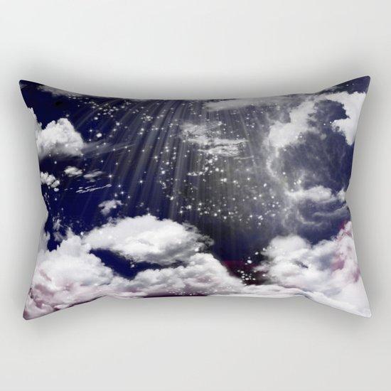 Deep Blue sky Rectangular Pillow