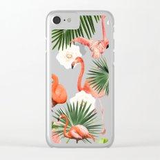 Flamingo Guava #society6 #decor #buyart Clear iPhone Case