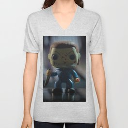 The Night He Came Home Unisex V-Neck