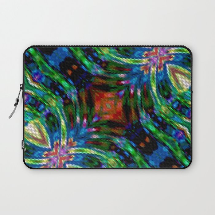 Cosmic Serpent Rainbow Laptop Sleeve