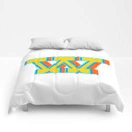 Letter W Comforters