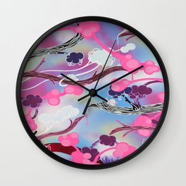 Traceable Ghosts Wall Clock