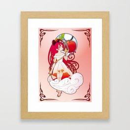 Kyoko Sakura - Nouveau edit. Framed Art Print