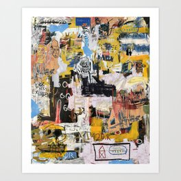Basquiat World Art Print
