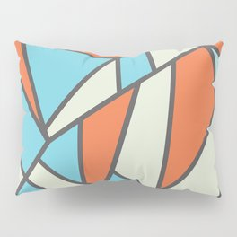 Geometric Colour Pattern V3 Pillow Sham