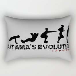 Saitama's Evolution Rectangular Pillow