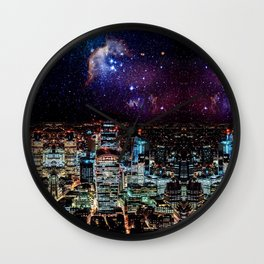 City Nights Wall Clock