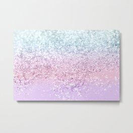 Unicorn Girls Glitter #4 (2019 Version) #shiny #pastel #decor #art #society6 Metal Print
