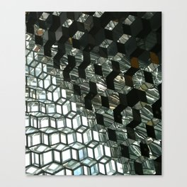 Harpa,  concert hall and conference centre Canvas Print
