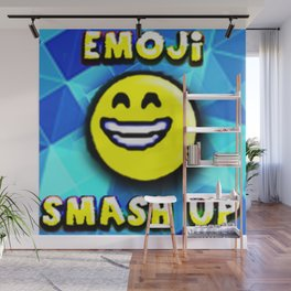 emoji Smash up Wall Mural