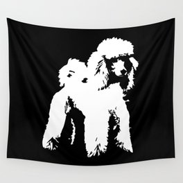 PET POODLE DOG Wall Tapestry