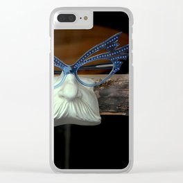 The Brown Nose - Feeling Blue Clear iPhone Case