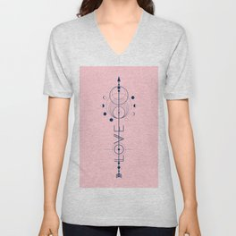 Love Cosmic Arrow Unisex V-Neck