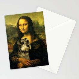 Mona Schnauzer Stationery Cards