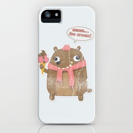 Icecream Bear iPhone Case