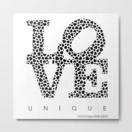 MICI - love unique Metal Print