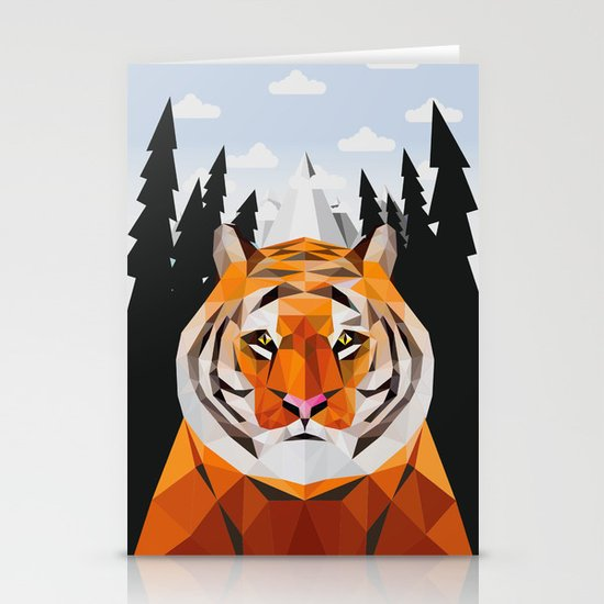 The Siberian Tiger Stationery Cards