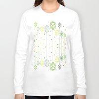 deco Long Sleeve T-shirts featuring Holidays Deco by Elena Indolfi